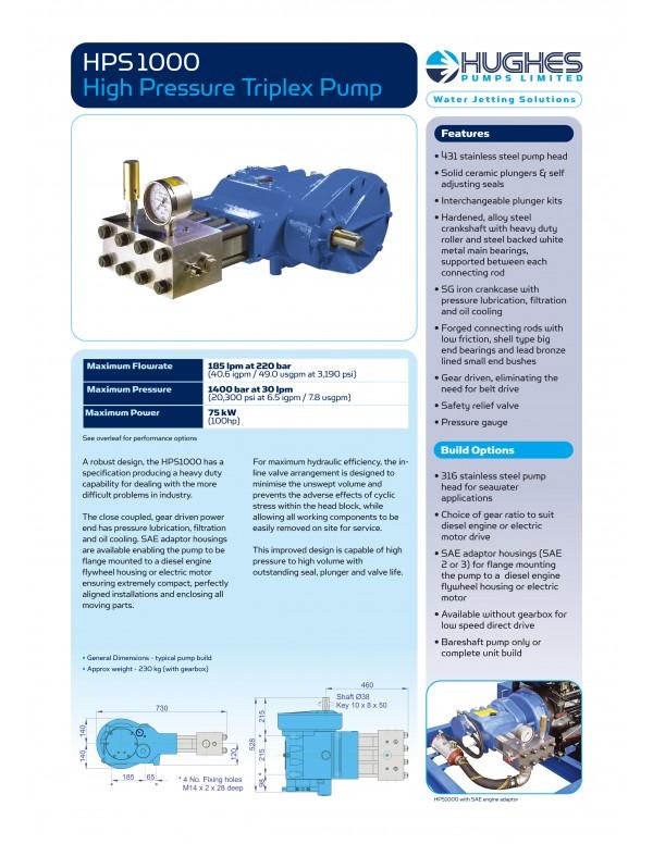 HPS1000 Sujeti Makinası