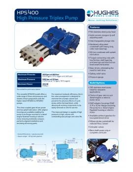 HPS 400 Su Jeti Makinası